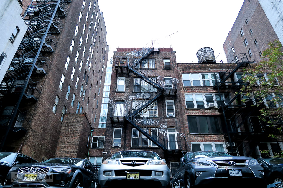 Historic buildings with grafitti in Chelsea, New York City / funkyjunkinteriors.net