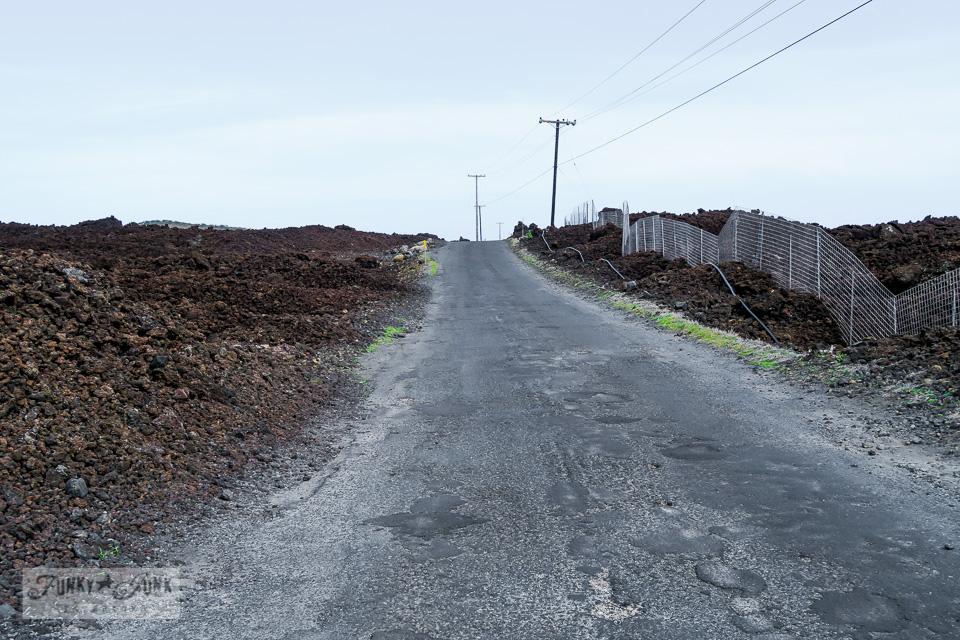 Lava fields beyond Kikei in Maui | funkyjunkinteriors
