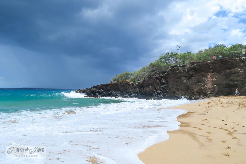 Makena's Big Beach in Maui, Hawaii | funkyjunkinteriors.net