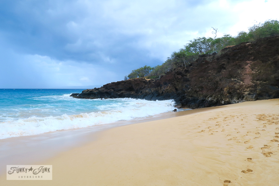 Makena's Big Beach in Maui, Hawaii | funkyjunkinteriors