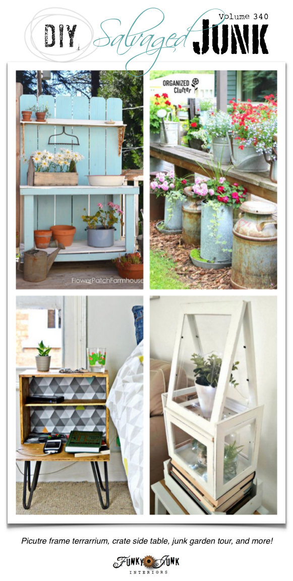 DIY Salvaged Junk Projects | funkyjunkinteriors.net