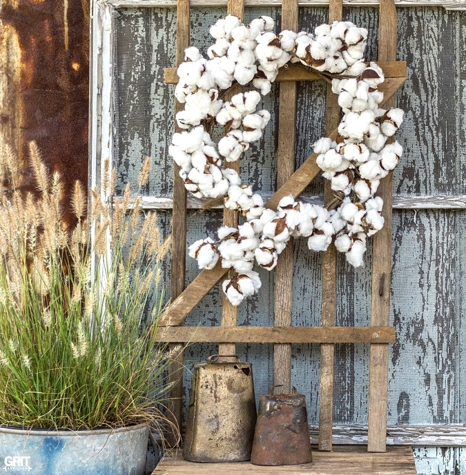 Tobacco stick gates and stars, by Grit Antiques, featured on Funky Junk Interiors