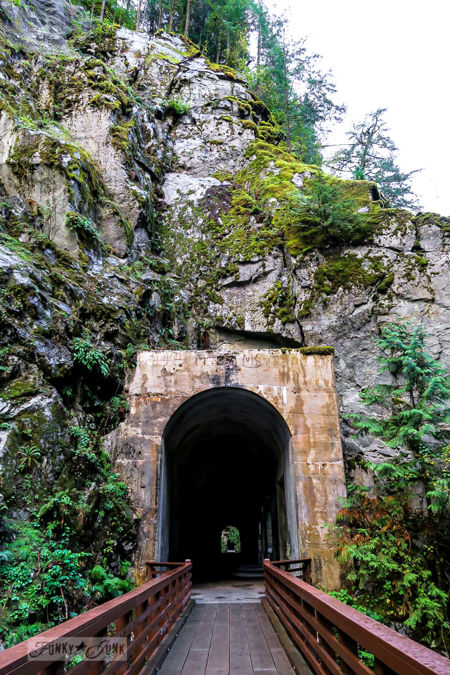 Othello tunnels at the Coquihalla Canyon Provincial Park in Hope, BC Canada | funkyjunkinteriors.net