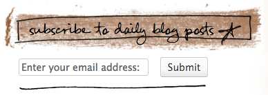 Subscribe to daily blog posts at funkyjunkinteriors.net