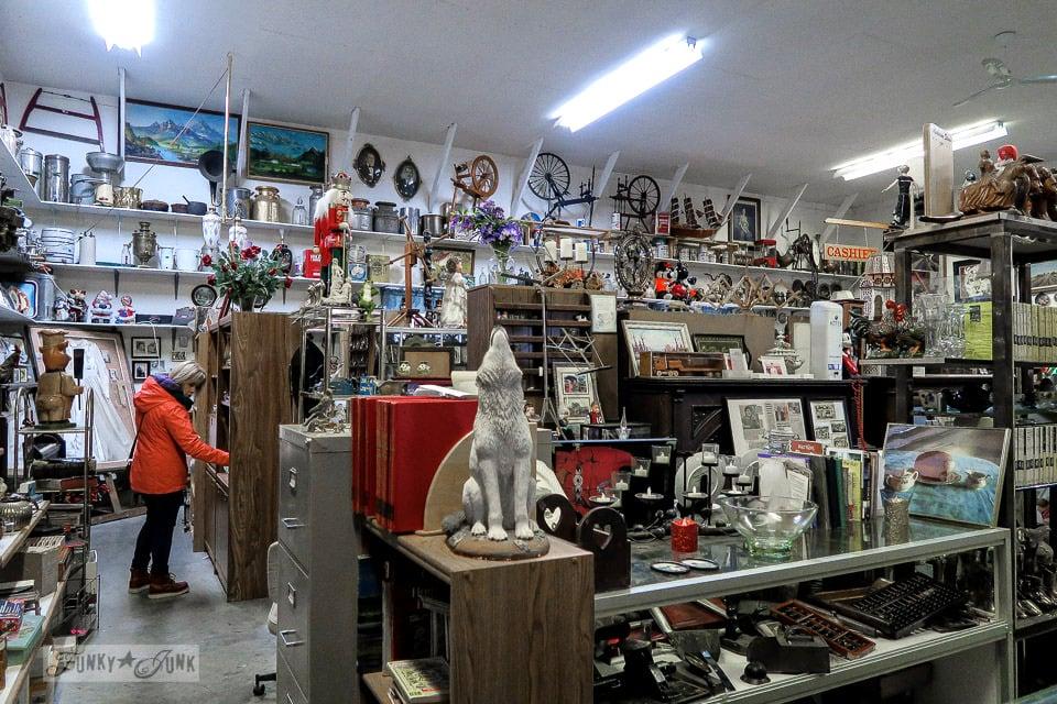The fine antiques room at Granny & Grumpa's Antiques | funkyjunkinteriors.net