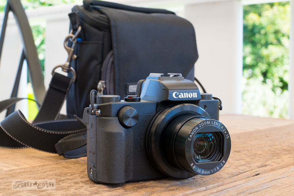 About the Canon G5X - part of All my current favorite camera gear and where I use it | funkyjunkinteriors.net