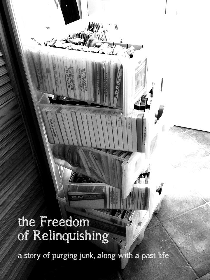 The Freedom of Relinquishing. A story of purging junk, along with a past life. When time changes, so do we. funkyjunkinteriors.net