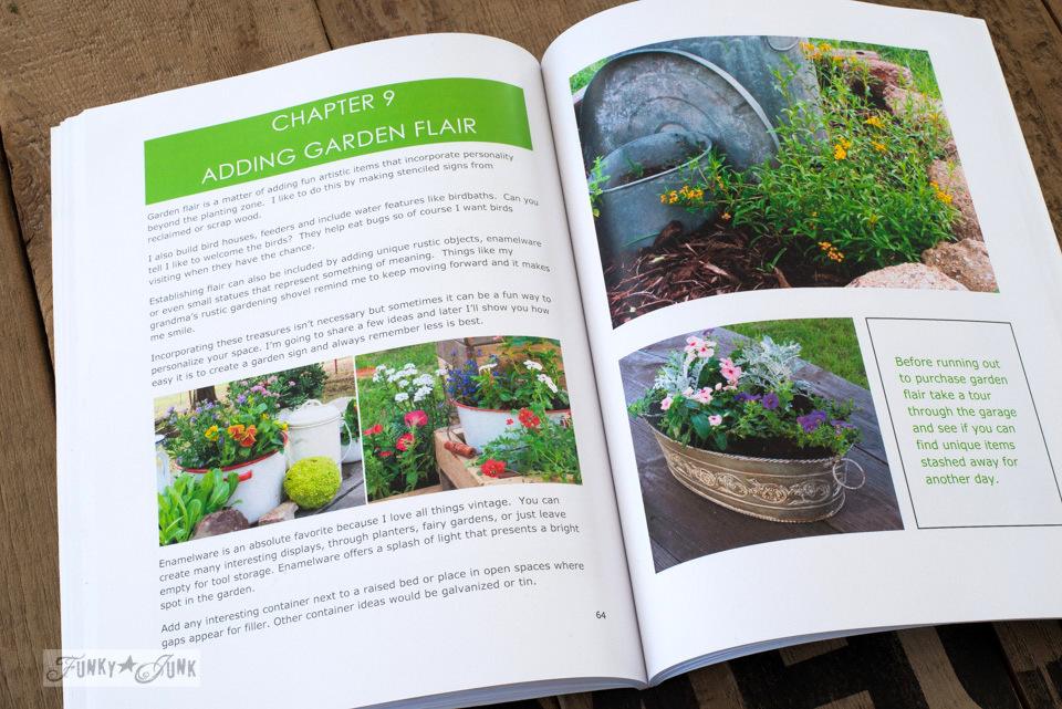 Adding garden flair - Startle Garden book review on funkyjunkinteriors.net
