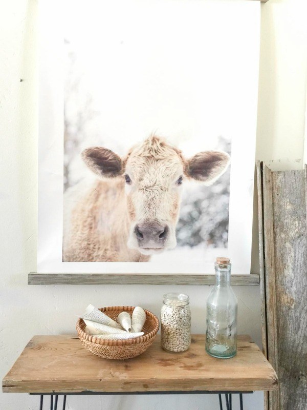 Farmhouse winter white home tour, by Twelve on Main, featured on Funky Junk Interiors