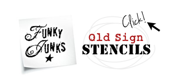 Visit the store HERE Funky Junk's Old Sign Stencils