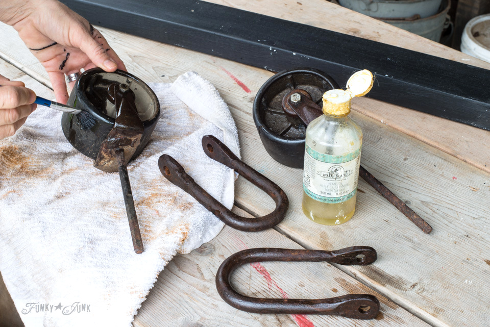 Learn how to condition metal to enhance the tone and add protection using hemp oil and spray sealers. Click the post for the full tutorial with befores and afters.