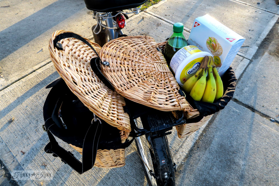 How these bike pannier baskets pack away all that gear! - part of Learn how to buy the best bike for you with 10 must-get accessories! You will fit your custom-fit bike so well, you won't want to get off of it! Learn all the tips in this post.