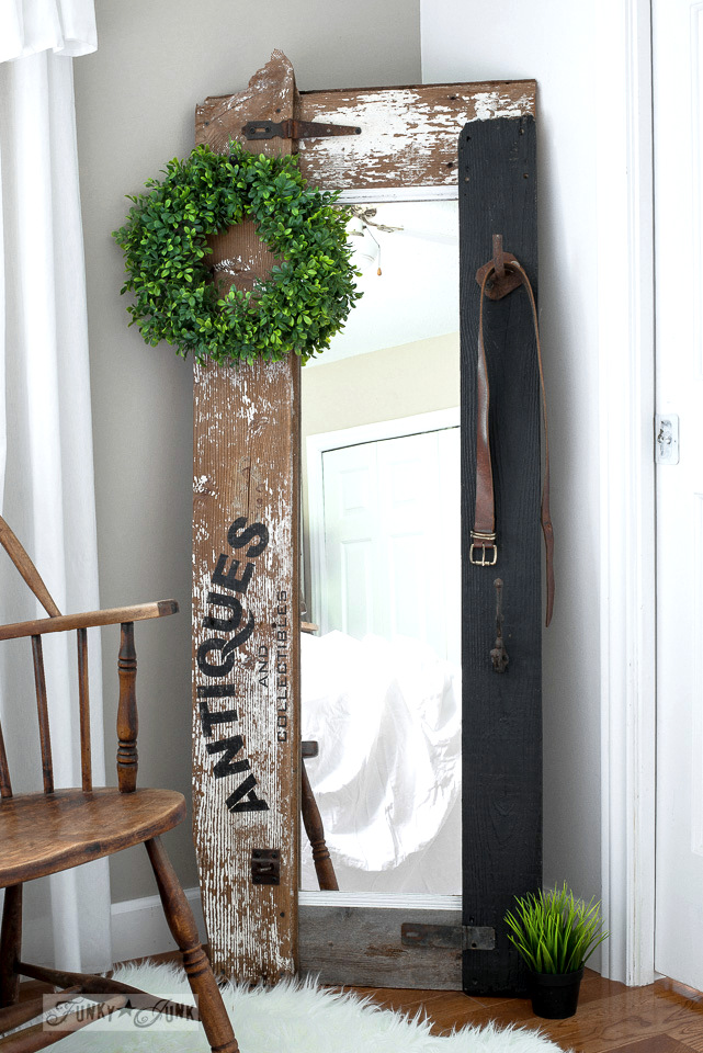 How To Make A Reclaimed Wood Antiques Hall Tree