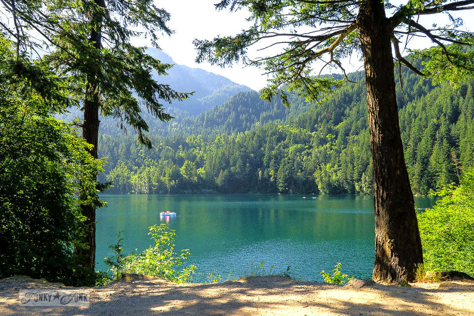 Stunning sunny capture of Lake of the Woods, located in Hope, BC Canada | funkyjunkinteriors.net