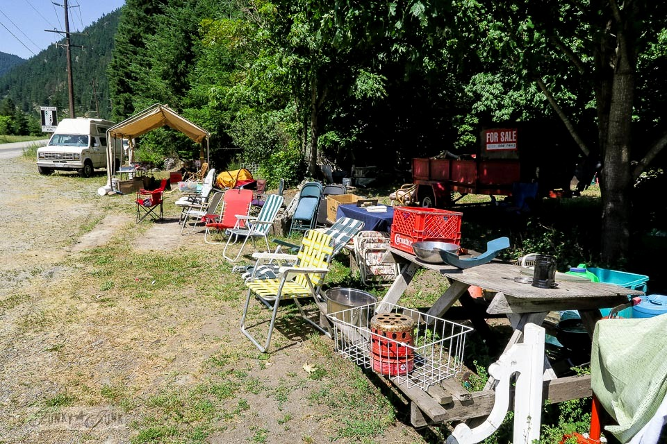 Alexandria Lodge, filled to the brim with wonderful junk! Located near Hope, BC Canada | funkyjunkinteriors.net
