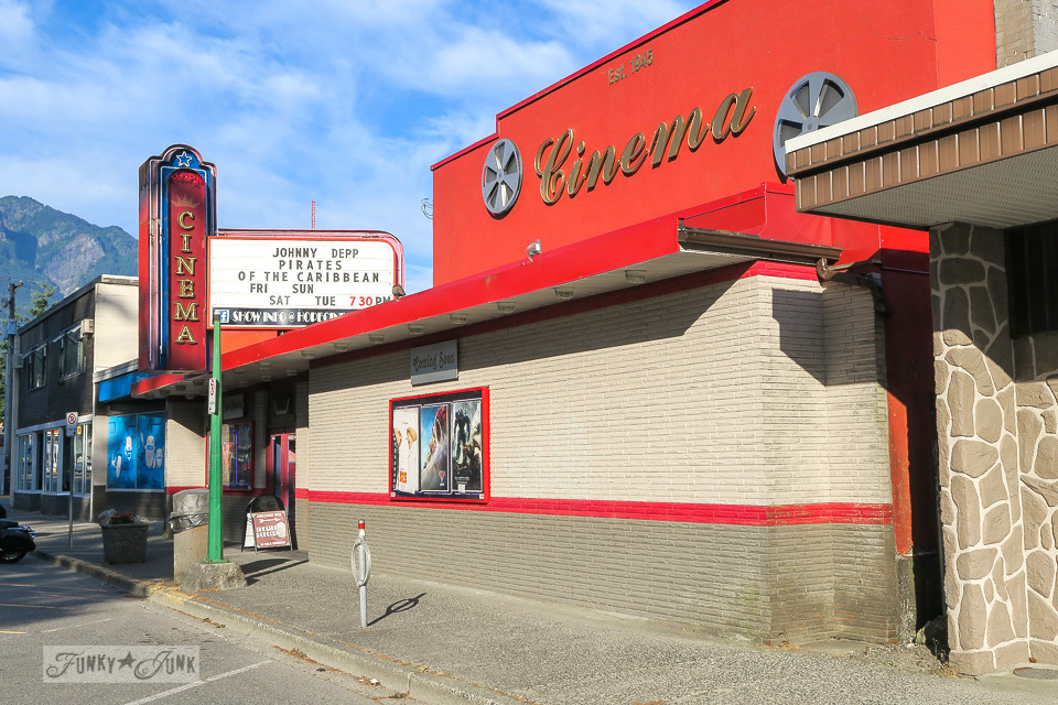 Hope Cinema, an authentic movie experience located in Hope, BC Canada | funkyjunkinteriors.net