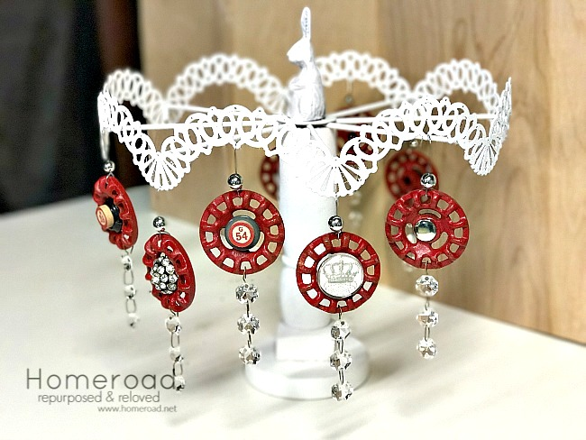 Vintage Faucet Christmas Ornaments by Homeroad, featured on Funky Junk Interiors