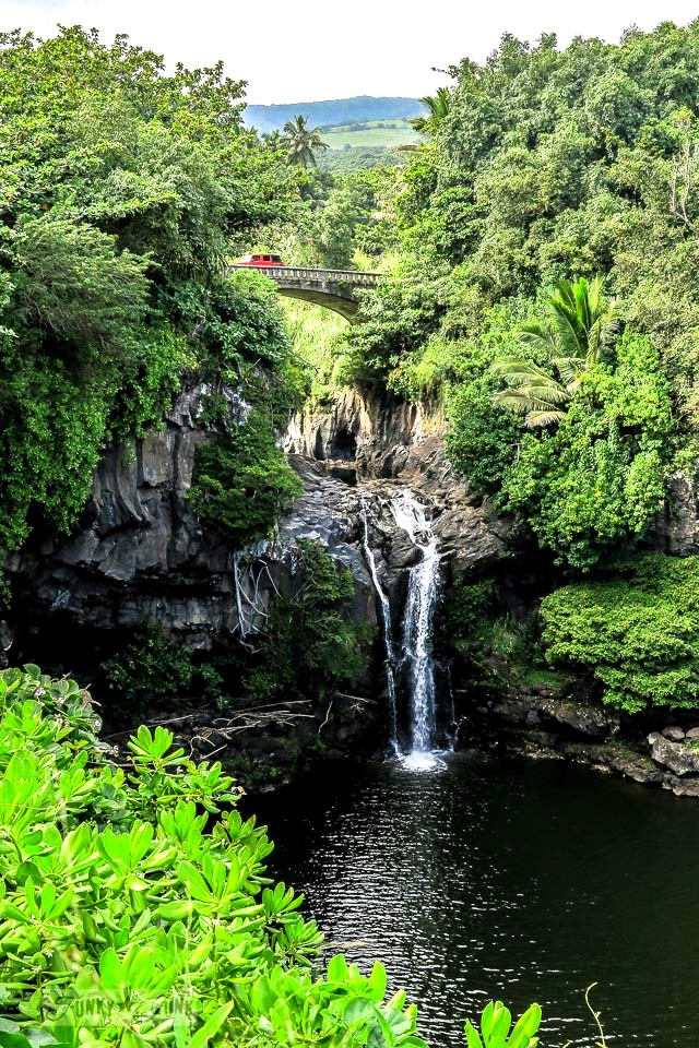 Seven Sacred Pools in Maui, Hawaii along the Road To Hana