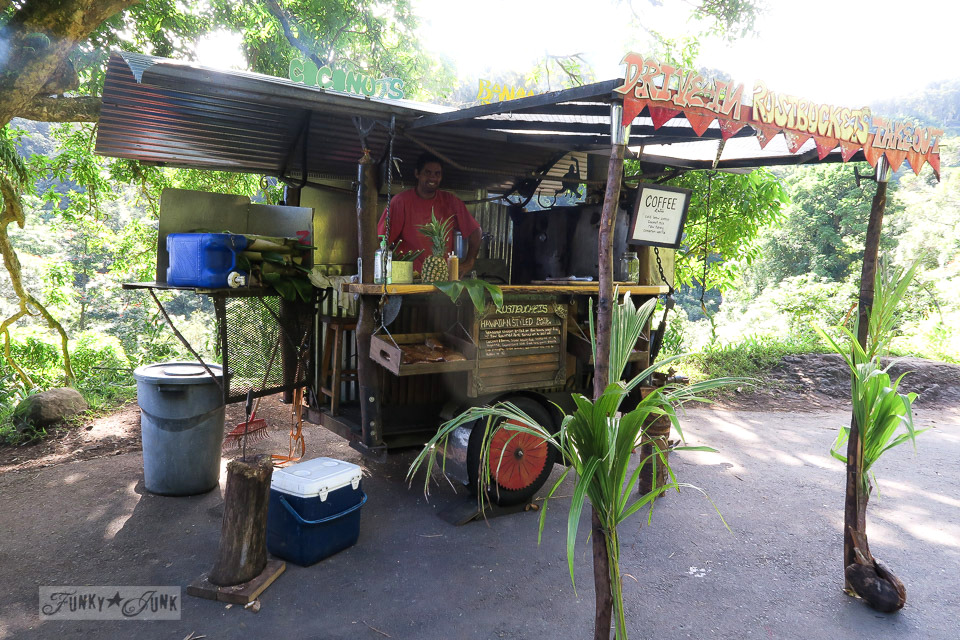 Roadside stands along the Road To Hana, Maui, Hawaii | funkyjunkinteriors.net
