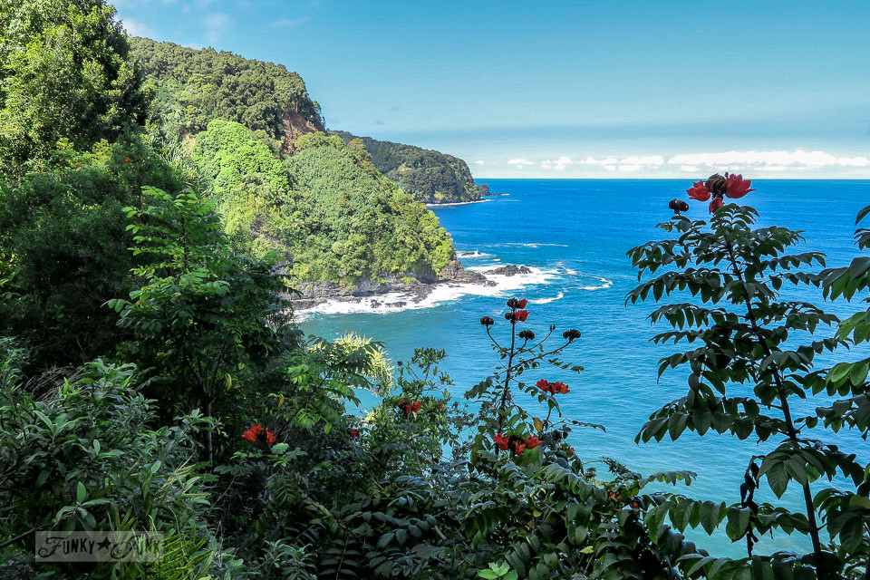 The scenic lookouts along The Road To Hana, Maui, Hawaii | funkyjunkinteriors.net