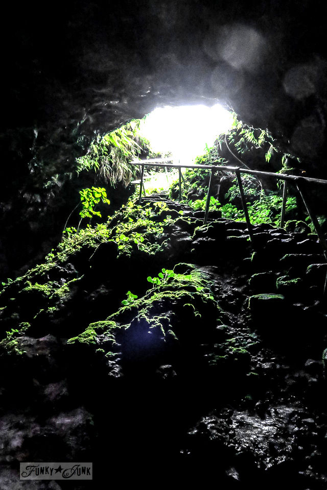 Lava Tube adventure along the Road to Hana, Maui, Hawaii | funkyjunkinteriors.net