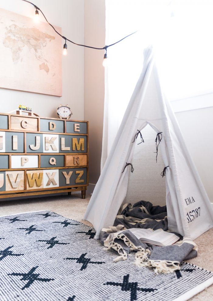 How to build a DIY Teepee by Cherished Bliss, featured on Funky Junk Interiors