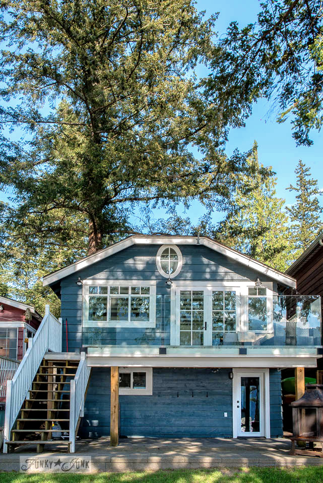 A dreamy white shiplapped cottage tour at Cultus Lake, BC