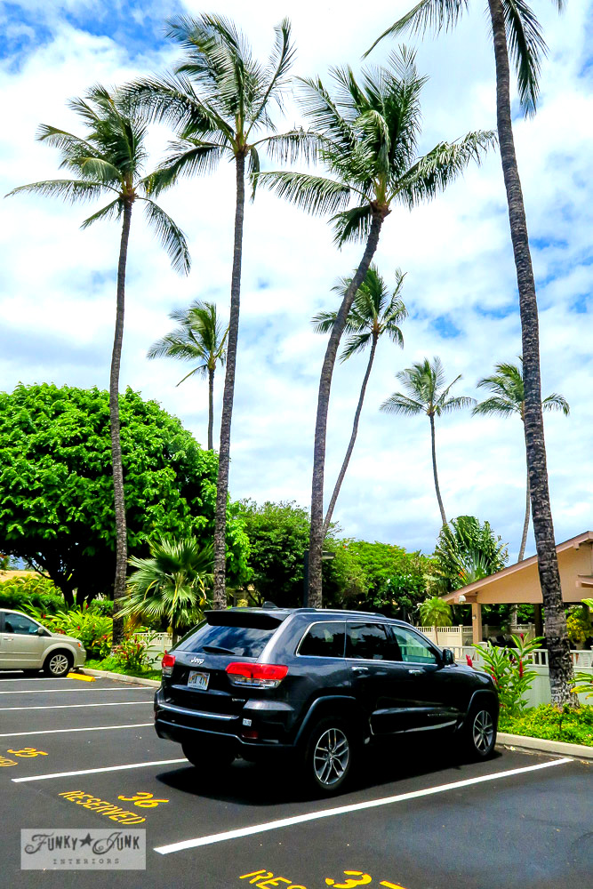 Jeep Cherokee rental SUV in Kihei, Maui