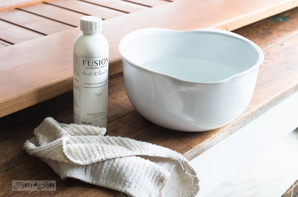 How to use Fusion Mineral Paint's phosphate free TSP
