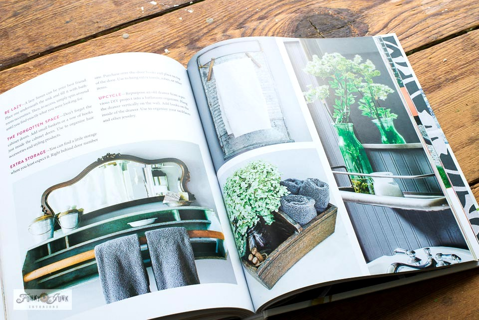 A book review and DIY farmhouse project with The DIY Style Finder book by KariAnne Wood from Thistlewood Farms
