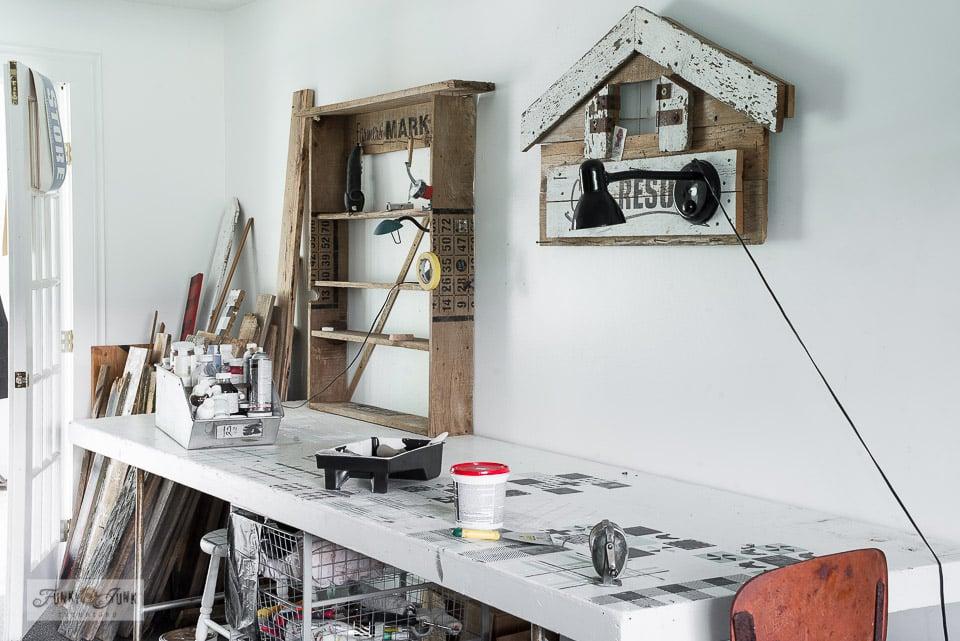 paint studio before