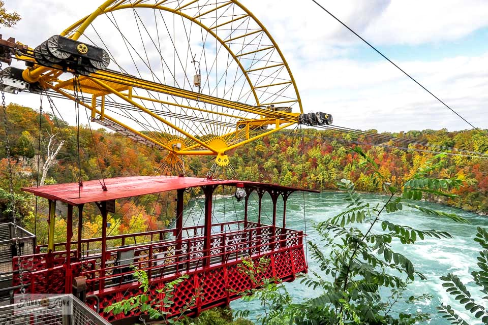 Take this visual tour of a spectacular fall ride on the Whirlpool Aero Car, Niagara Falls. A must-stop if in the area, especially during fall! Click to full post with video.
