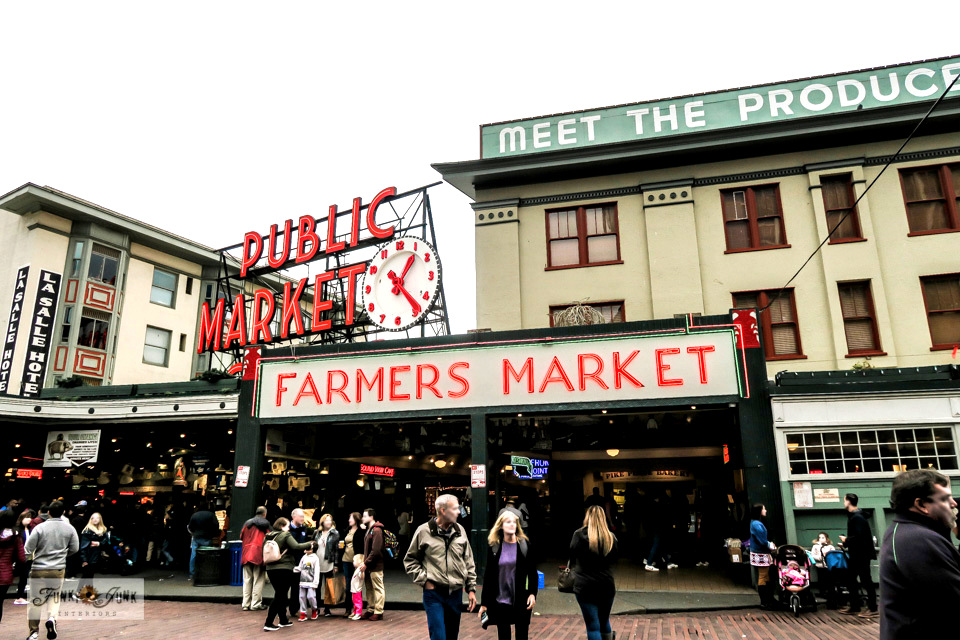 Pike Place Market in Seattle, Washington.