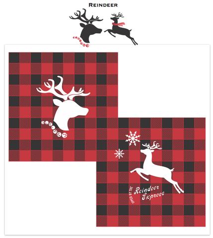 Reindeer Stencils | Funky Junk's Old Sign Stencils