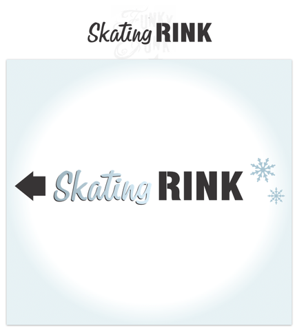 Skating Rink | Funky Junk's Old Sign Stencils