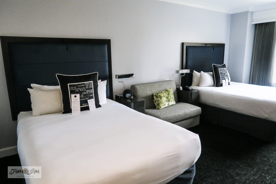 A gorgeous, modern Motif Seattle hotel room in Seattle, Washington