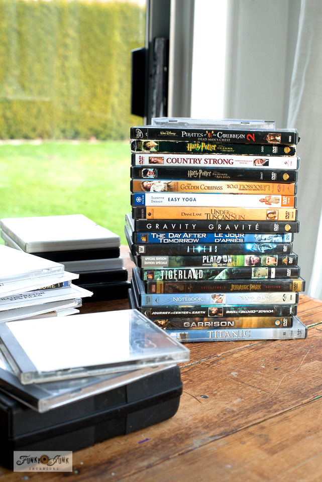 Learn how I am recycling CDS DVDS and floppy disks - Wk 6 for the Marie Kondo purging challenge!
