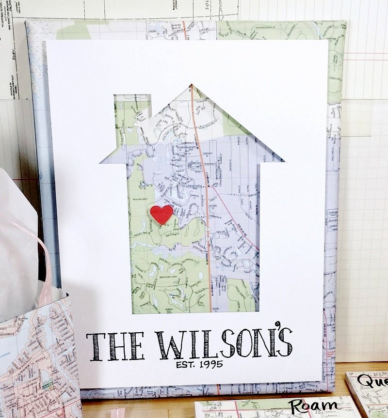 Recycle a map 3 ways by Creatively Beth, featured on DIY Salvaged Junk Projects 535 on Funky Junk!