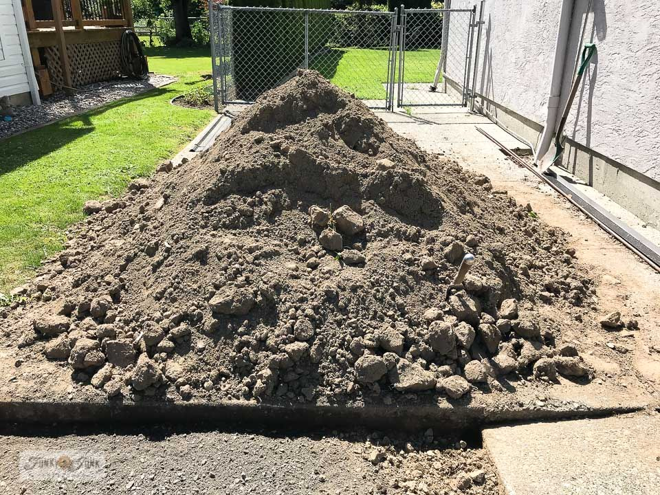 How to land free clean soil fill to help grown a new lawn!