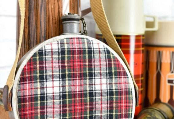 flannel canteen by Sadie Seasongoods