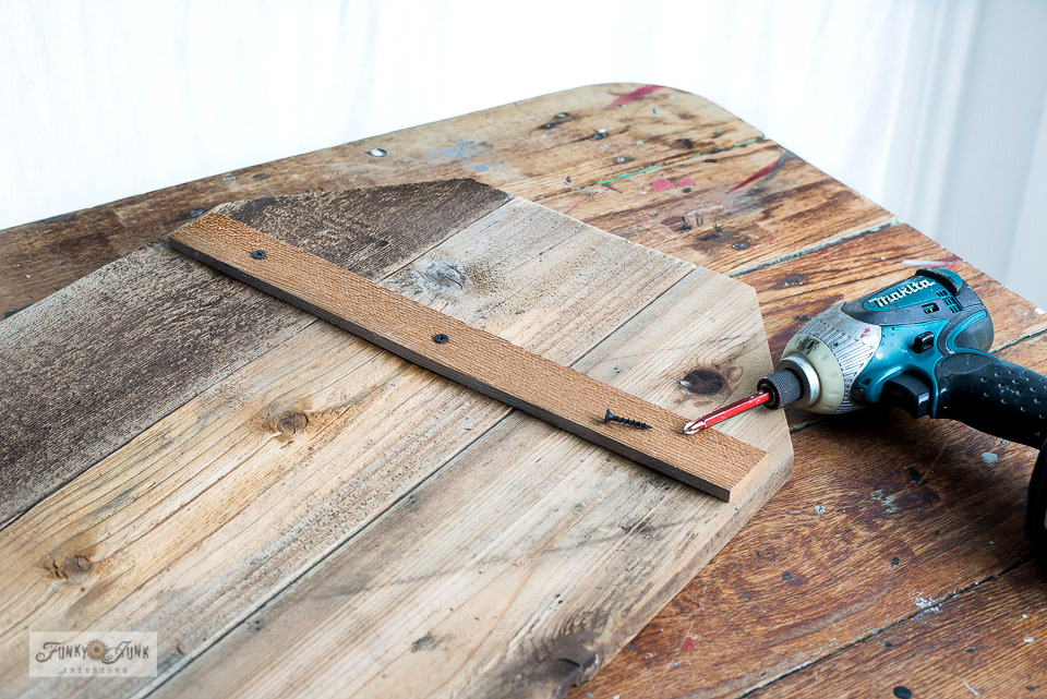 Support sign boards by attaching a cedar strip along the back. Click to learn more.