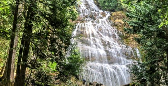 Bridal Veil Falls Chilliwack BC Canada