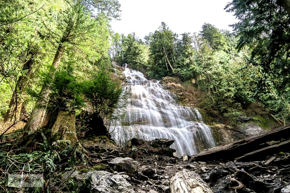 Love nature? Come check out a day trip to Bridal Veil Falls, located near Chilliwack, British Columbia, Canada! Shown is the trails through a mossy forest leading right up to the waterfall! Click for directions and to take the full tour!