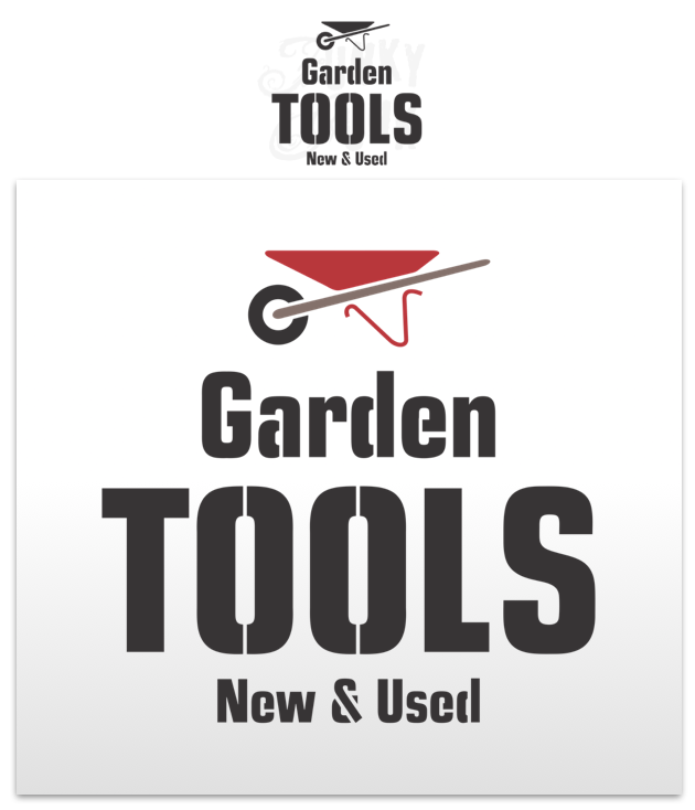 Garden Tools - Funky Junk's Old Sign Stencils