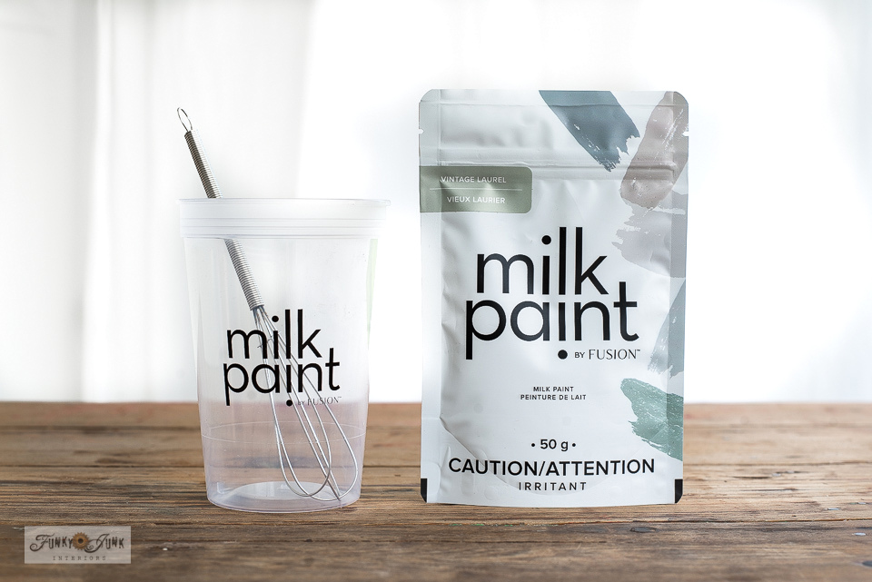 All about Milk Paint by Fusion - Click to read all the details and why this is THEE product to use on raw reclaimed wood!