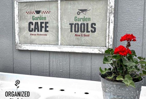 screen garden signs