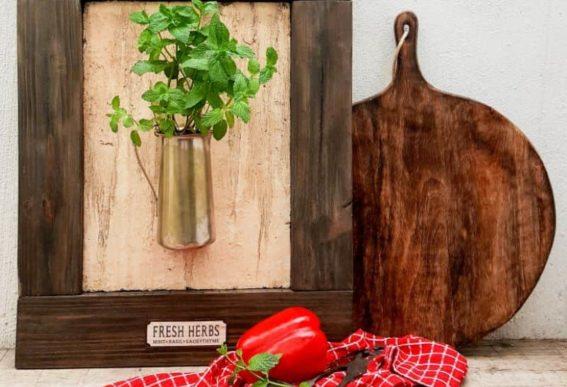 Framed-Herb-Planter
