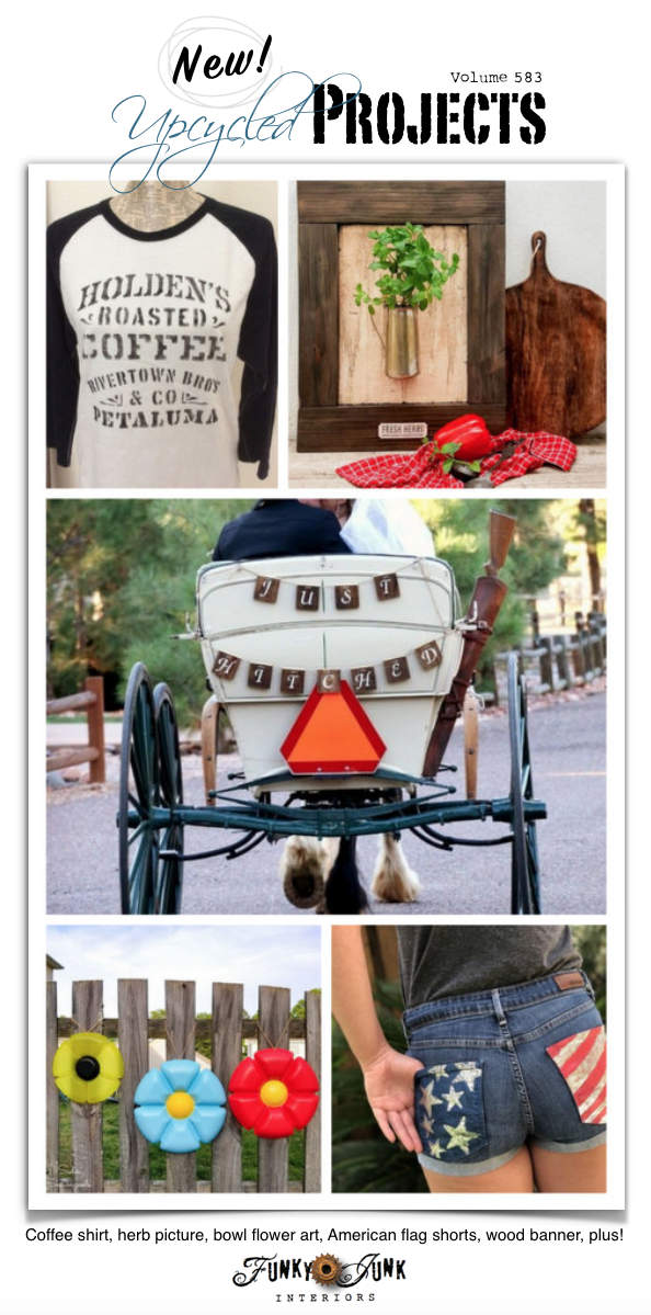 New Upcycled Projects to Make 583