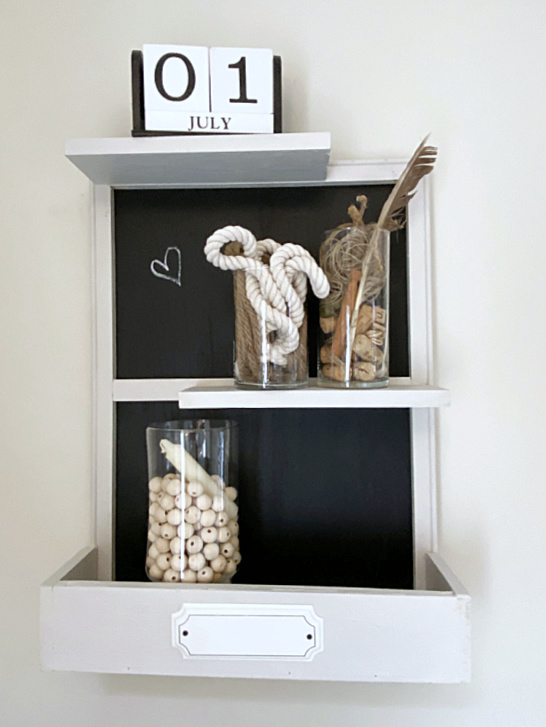 Hanging wall shelves by Homeroad, featured on New Upcycled Projects to Make 586!