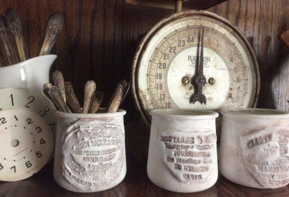 iod vintage crocks